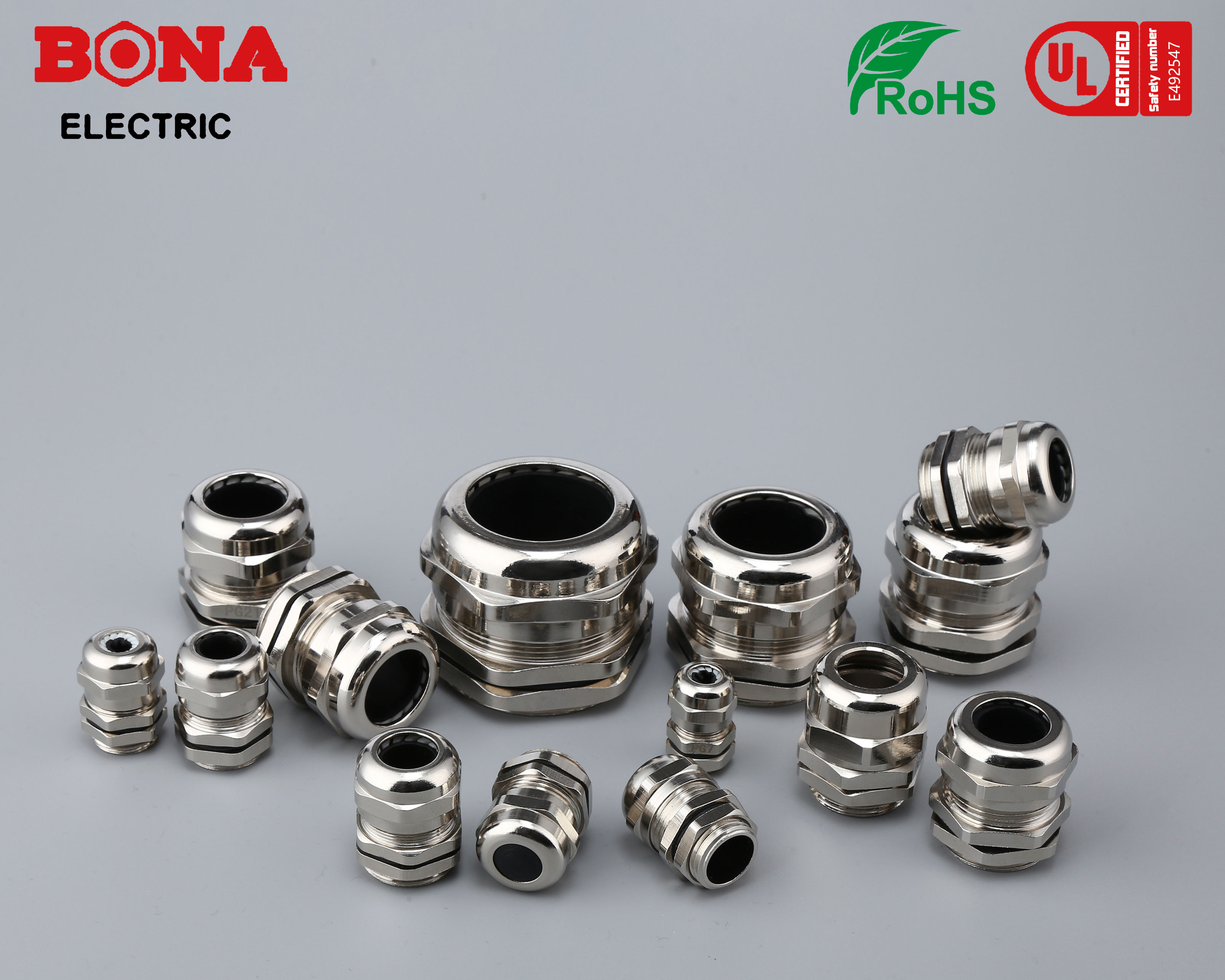 Metal Cable Glands G(PF) Type UL E492547