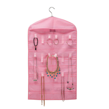Foldable Jewelry Pocket Storage Hanging Organizer