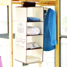 Non Woven Cloth Hanging Organizer Drawers Storage Solutions for Clothes