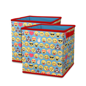 Ikea drona bak fabric kids collapsible storage trunk