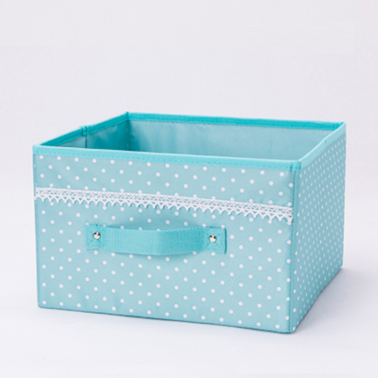 Collapsible Fabric Foldable Clothes Organizer Box