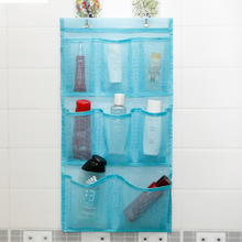 Hot Sale Wall Hanging Mesh Pocket Organizer in Bathroom