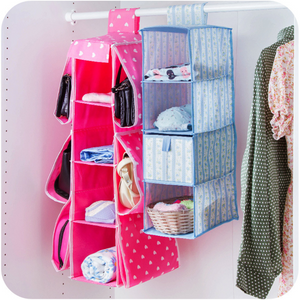 Small Wall Handbag Pocket Organizer with Pockets