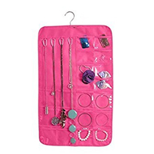 Promotional Foldable Overdoor Hanging Jewelry Organizer