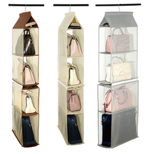 Non Woven Cloth Wall Mount Storage Organizer Hanging Storage Bag